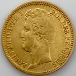 20 франков. 1831. Луи-Филипп I. Франция. (золото 900, вес 6,39 г), фото №6