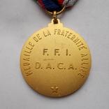 Франция. Медаль братства союзников., фото №5
