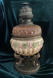 Лампа, сецесія 1910-х років, майоліка, фото №4
