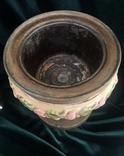 Лампа, сецесія 1910-х років, майоліка, фото №8