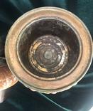 Лампа, сецесія 1910-х років, майоліка, фото №11