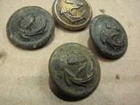 Пуговицы с якорем 4-шт., фото №4