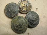 Пуговицы с якорем 4-шт., фото №5