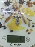 Крестик 925 проба, фото №5