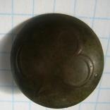Пуговица полковая нижних чинов РИА с номером 28, фото №7
