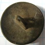 Пуговица полковая нижних чинов РИА с номером 28, фото №9