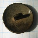 Пуговица полковая нижних чинов РИА с номером 28, фото №12
