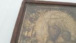 Икона старинная богородица 2, фото №5
