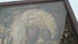 Икона старинная богородица 2, фото №6
