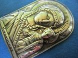 Иконка Казанская БМ серебро., фото №5