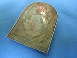 Иконка Казанская БМ серебро., фото №6