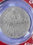 5 марок, Пруссия, император Вильгель II, 1900 год, серебро 0.900, 27.77 грамм, фото №8