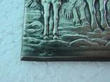 Серебряная накладка Три богатыря, фото №3