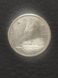 10 центов 1957 серебро, Канада, фото №2