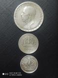 1 крона 1946, 25 эре 1943, 10 эре 1969 Серебро, фото №3