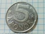 Швеция 5 крон 2002, фото №2