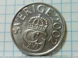 Швеция 5 крон 2002, фото №3