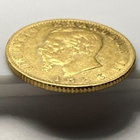 20 лир. 1863. Витторио Эмануэле II. Италия (золото 900, вес 6,43 г), фото №10