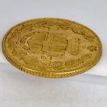 20 лир. 1882. Умберто I. Италия. (золото 900, вес 6,47 г), фото №9