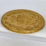 20 лир. 1882. Умберто I. Италия. (золото 900, вес 6,47 г), фото №10