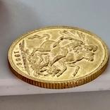 1 фунт (соверен). 1906. Эдуард VII. Великобритания (золото 917, вес 8,00 г), фото №10