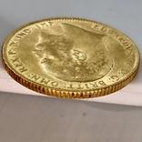 1 фунт (соверен). 1906. Эдуард VII. Великобритания (золото 917, вес 8,00 г), фото №12