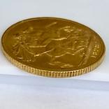 1 фунт (соверен). 1928. Георг V. Великобритания (проба 917, вес 8,00 г), фото №9