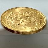 1 фунт (соверен). 1931. Георг V. Великобритания (проба 917, вес 8,00 г), фото №10