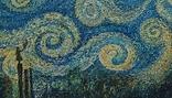 """Картина """"Ніч над містом"""", олія, полотно, репліка., фото №2"""