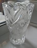 Большая ваза хрусталь СССР, фото №2