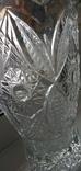 Большая ваза хрусталь СССР, фото №3