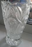 Большая ваза хрусталь СССР, фото №7