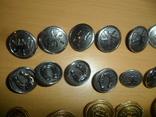 Пуговицы разные 43 шт в лоте пуговица подкова всадник и др., фото №3