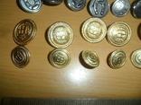 Пуговицы разные 43 шт в лоте пуговица подкова всадник и др., фото №5