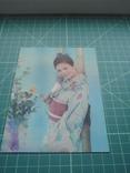 Стерео открытка времен СССР. Девушка. Эротика. 2, фото №3