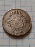 1 крона 1948 Швеція срібло, фото №7