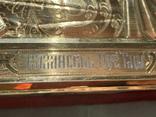 Казанская, 27х22см, серебро, фото №8