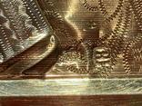 Казанская, 27х22см, серебро, фото №11