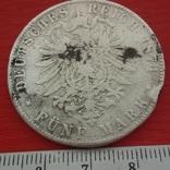 5 марок1871 г, фото №2