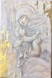 """Картина """"Мария с младенцем"""" 2021г, фото №2"""