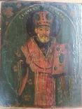 Икона Святой Николай (XIX) век, фото №2