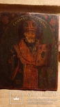 Икона Святой Николай (XIX) век, фото №6