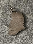 Серебряная подвеска Персидская кошка в эмалях (серебро 800 пр, вес 10,9 гр), фото №7
