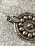 Серебряный массивный кулон (серебро 925 пр, вес 31,8 гр), фото №3