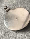 Серебряный массивный кулон (серебро 925 пр, вес 31,8 гр), фото №4