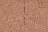 Откритка на коре пробкового дуба 2 шт и конверт, фото №4