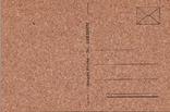 Откритка на коре пробкового дуба 2 шт и конверт, фото №5