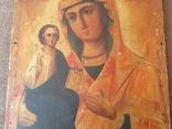 Старая икона Троеручница., фото №4