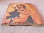Старая икона Троеручница., фото №6