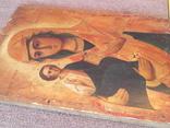 Старая икона Троеручница., фото №11